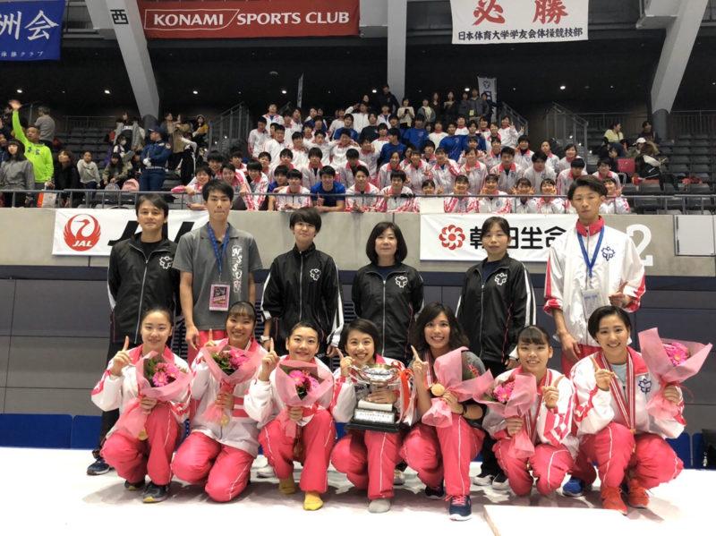日本体育大学体操競技部女子