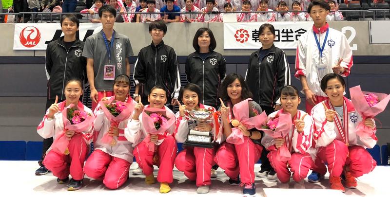 【勝利めし提供事例】日本体育大学体操競技部女子