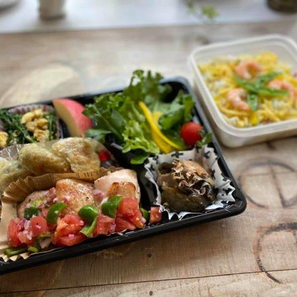 昨日28日、本日29日のアルバルク東京、コーチ、スタッフへお届けしたお食事です。