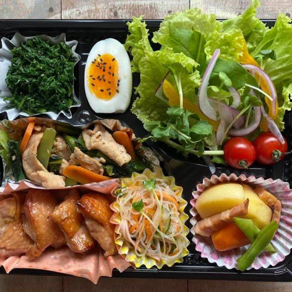 5月9日土曜日、一日分の「鉄、ビタミンB6、ビタミンC」の入ったお弁当です!